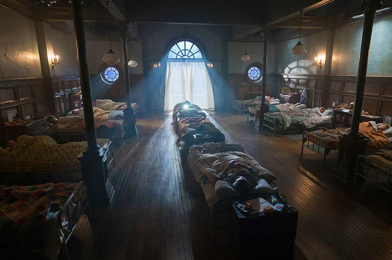 Sophie's dorm from The BFG movie