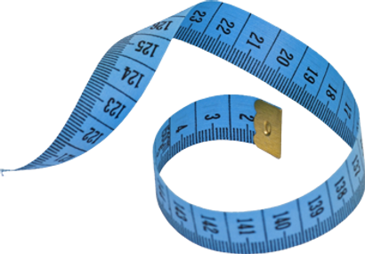 True weight loss tape measure