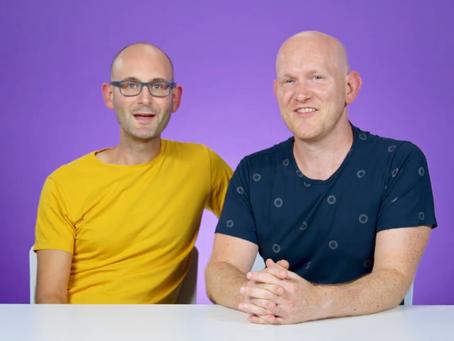 Daddy & Dad talk adoption with BuzzFeed