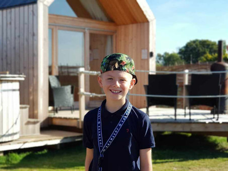 Glamping at Lee Wick Farm, Essex