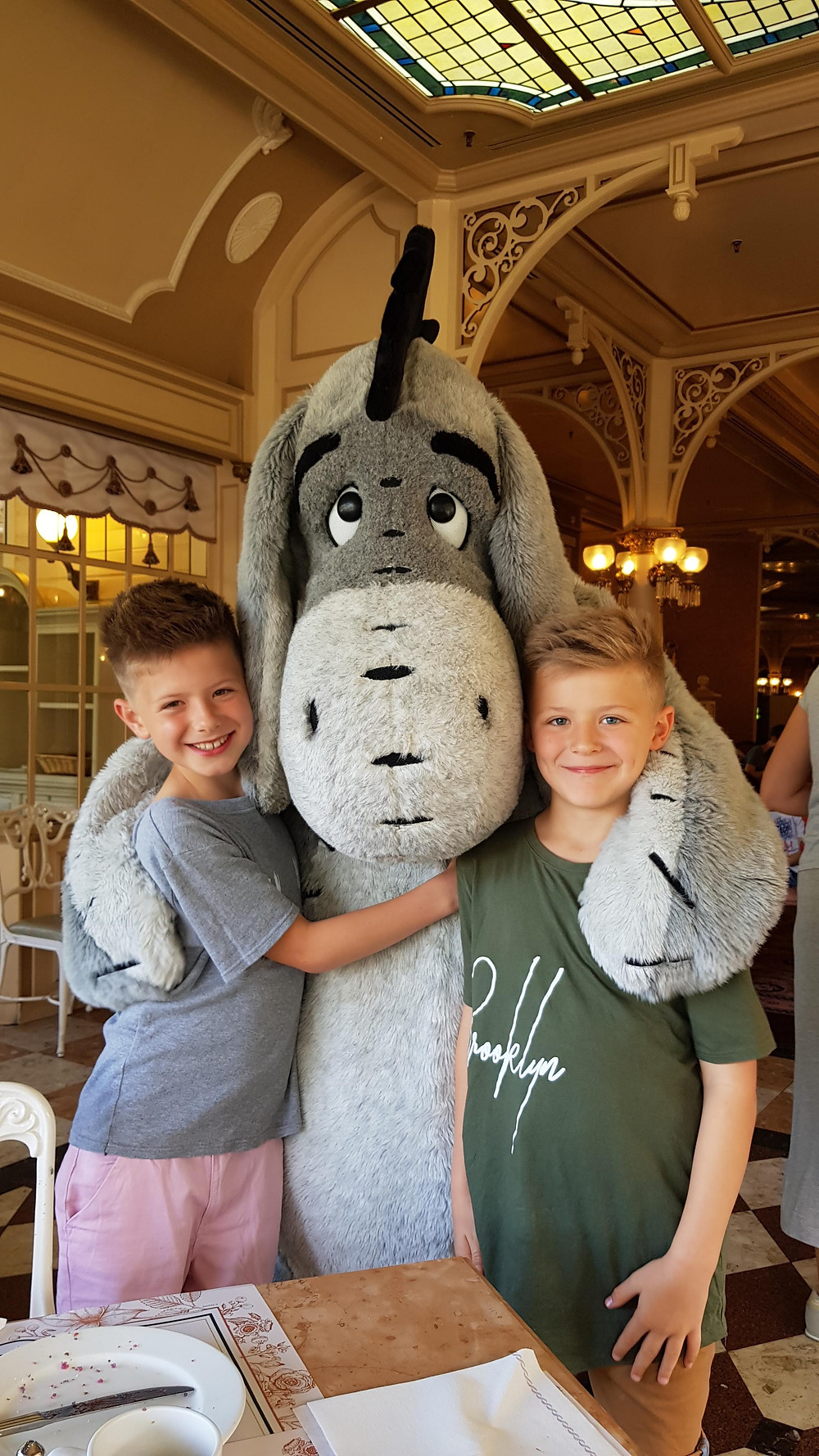 Daddy & Dad | Cuteness overload at the Character Breakfast at Disneyland Paris