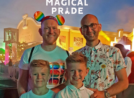 Our Disney Magical Pride adventure
