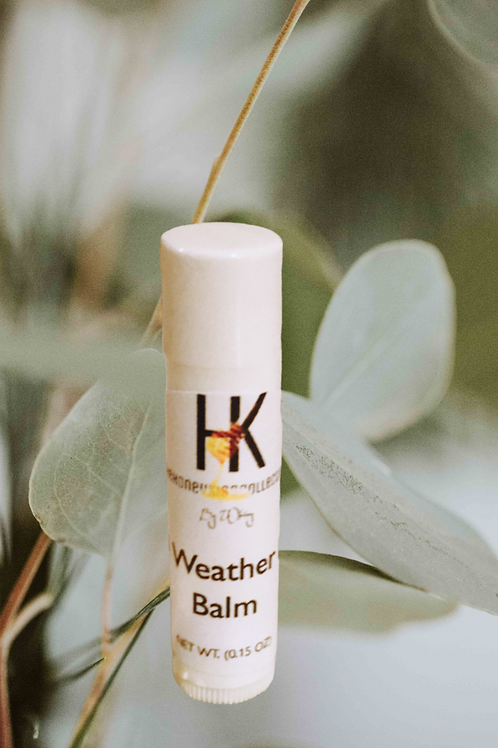 All Weather Beeswax Lip Balm