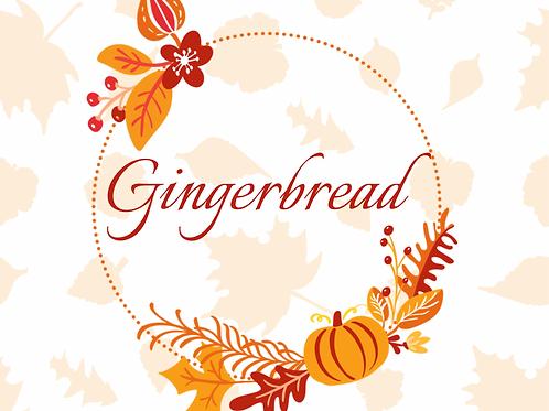 Gingerbread 8 oz