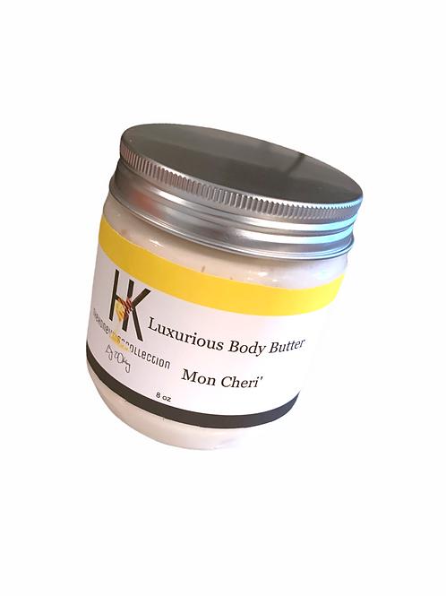 Luxurious Body Butter Mon Cheri' 8oz