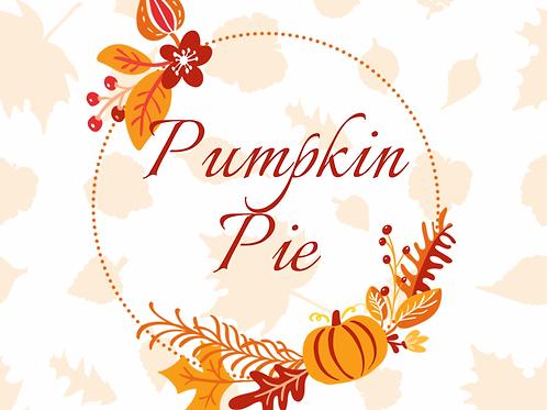 Pumpkin Pie 8 oz