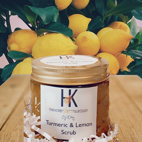 Turmeric & Lemon Scrub 5oz
