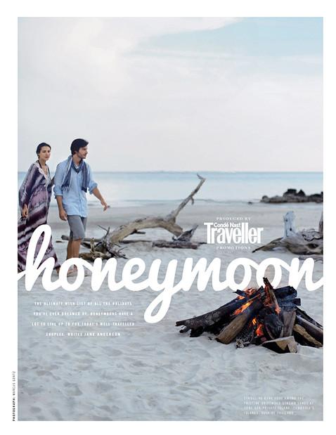 Honeymoon section opener
