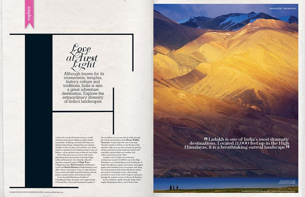Condé Nast Traveller India Section