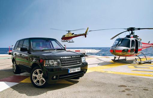 Art direction Range Rover shoot