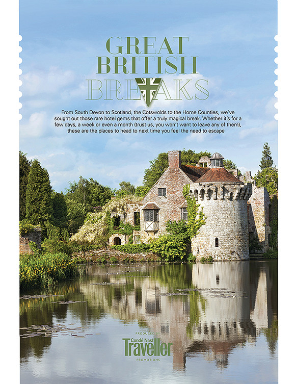 Great British Breaks section