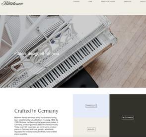 Blüthner Pianos, Leipzig
