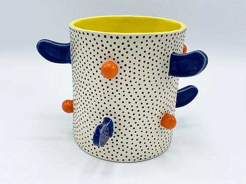 Dotted Planter with flippers