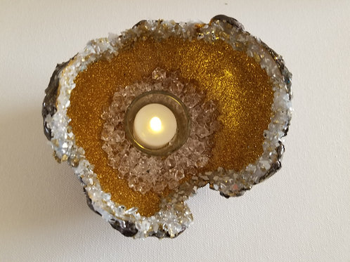 DRAGON EGG CANDLE HOLDER -gold2