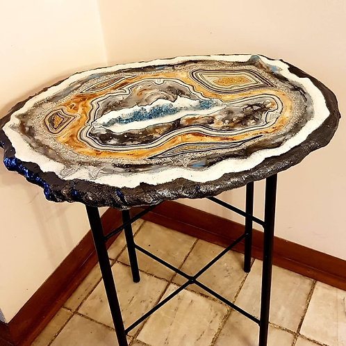 Blue Stone Table