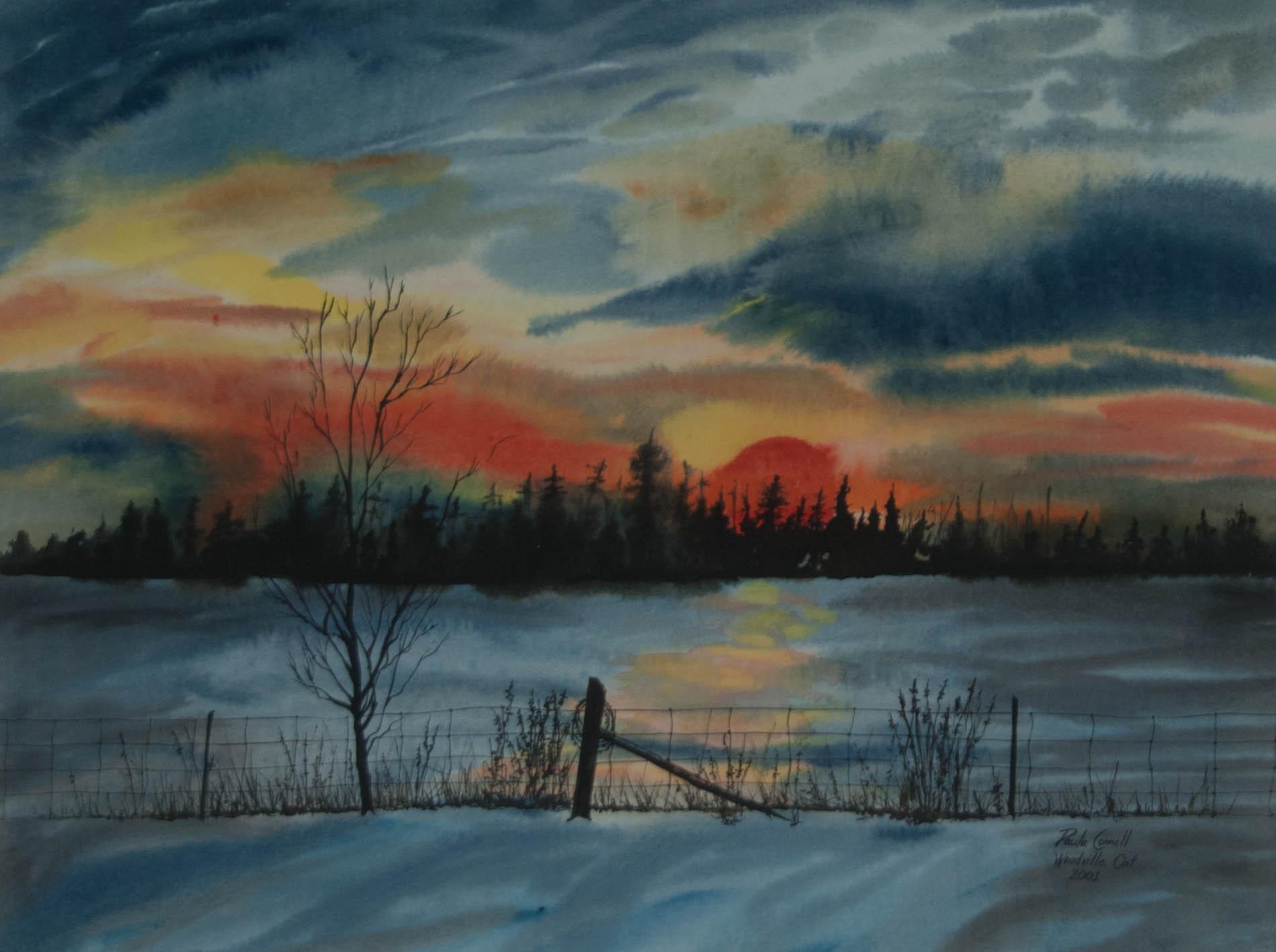 Woodville Sunset