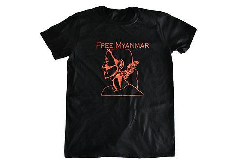 Free Myanmar Short Sleeve T-Shirt Unisex