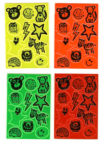 Kids Reflective Sticker Pack