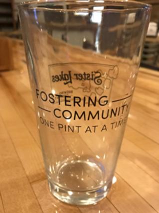 SLBC Pint Glass