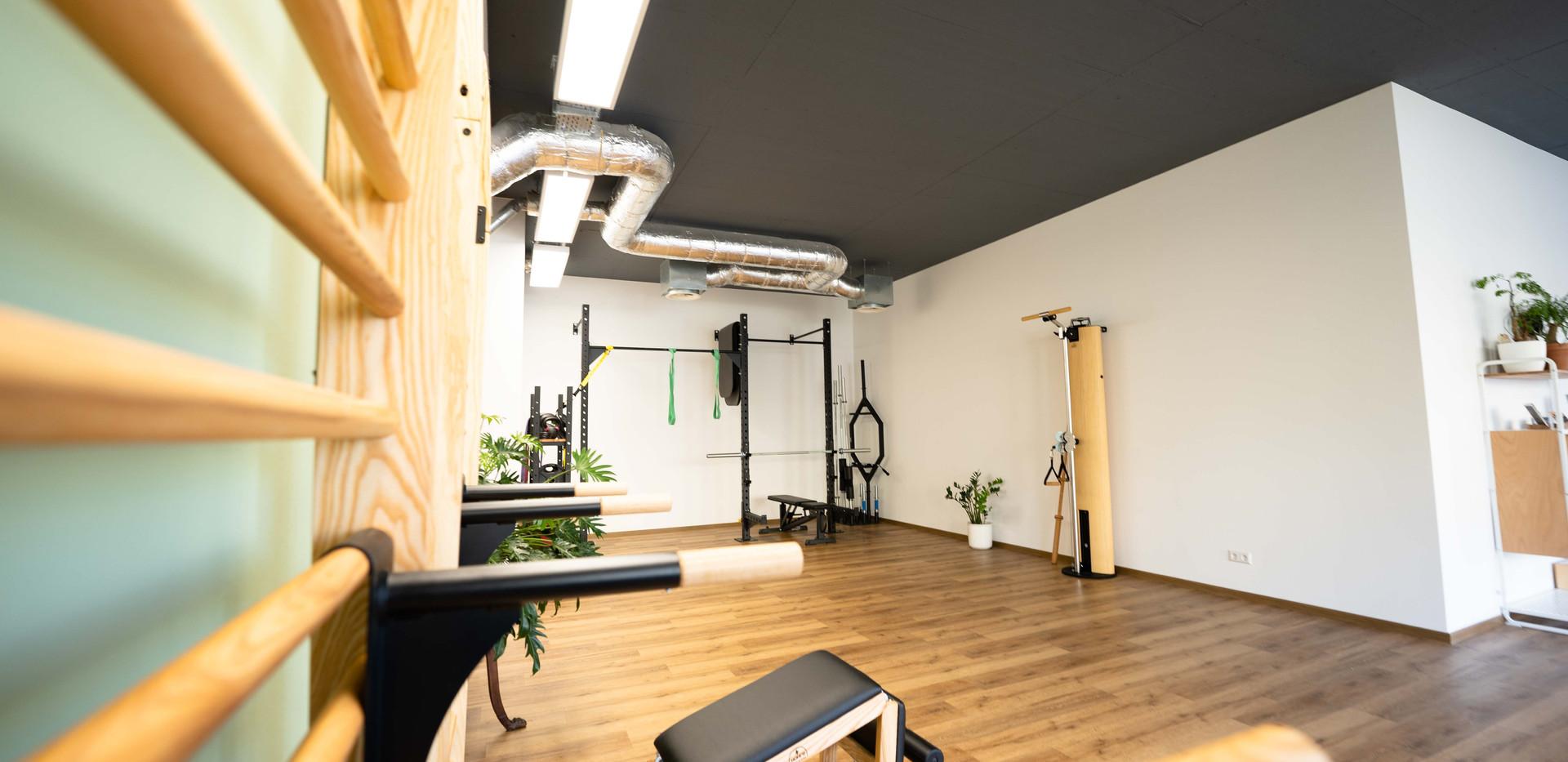 Raum für Bewegung und Training