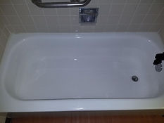 Bathtub after refinish