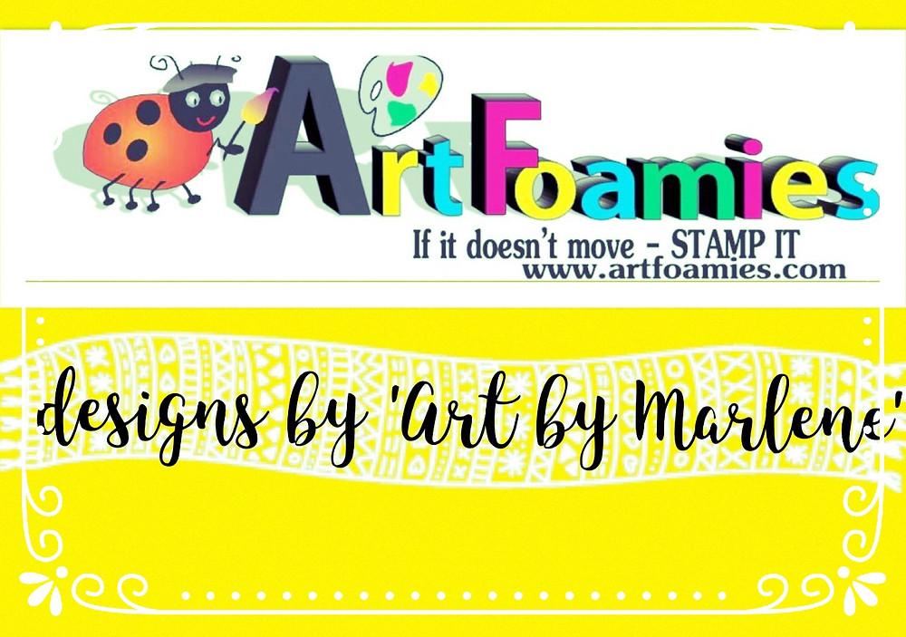 Art foamies give away - art by marlene