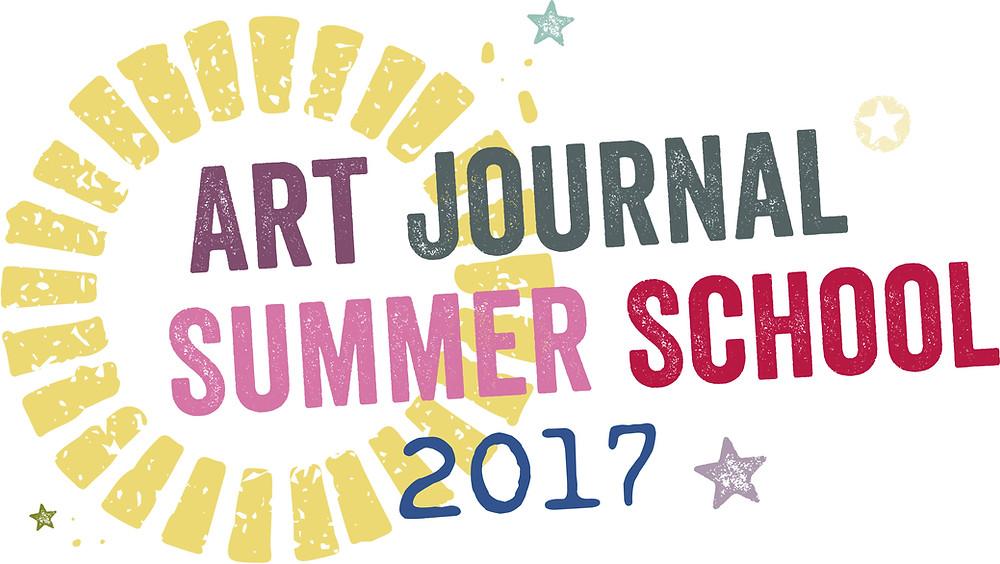 ART JOURNAL SUMMER SCHOOL 2017-ART BY MARLENE GIVEAWAY