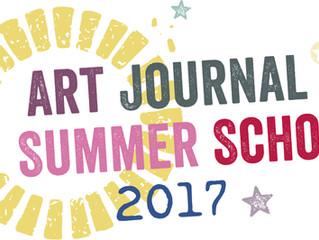 The winners of Art Journal Summer School 2017 - ART BY MARLENE giveaway