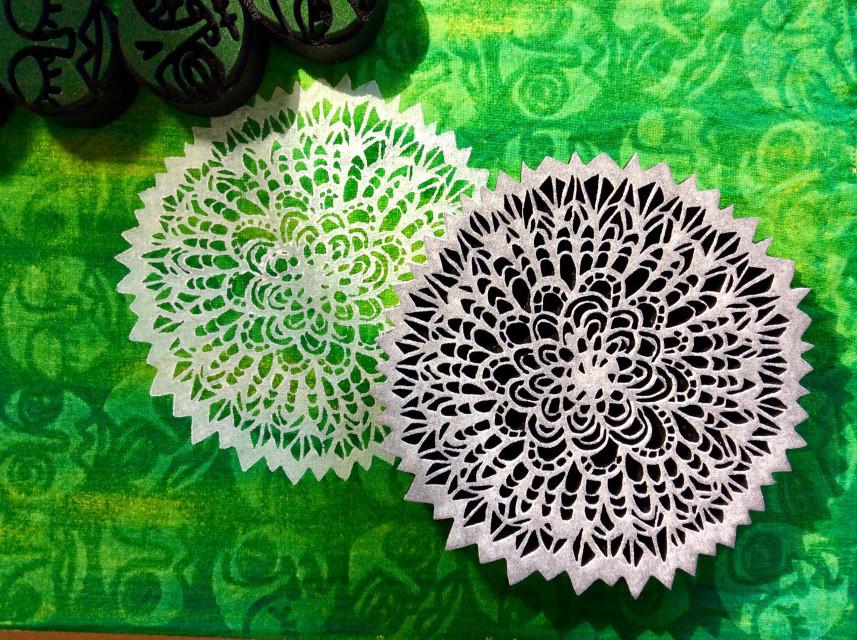 funky flower artfoamie