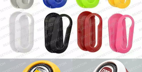 Replacement Key Cover Shell for Fiat 500, Abarth 595, PUNTO, 500L, PANDA