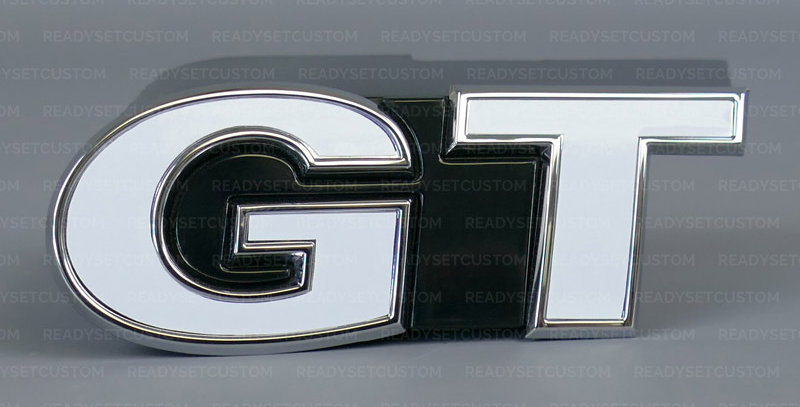 Front Badge Overlay Decal for VW Polo GT