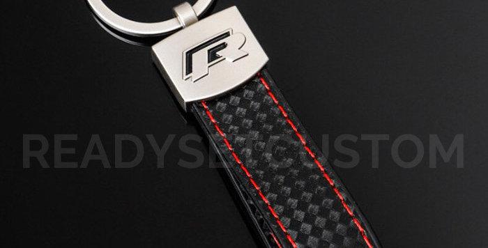 R Keychain for VW Golf & Polo R-Line