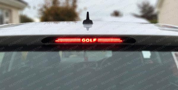 VW Golf MK7 Brake Light Overlay Decal