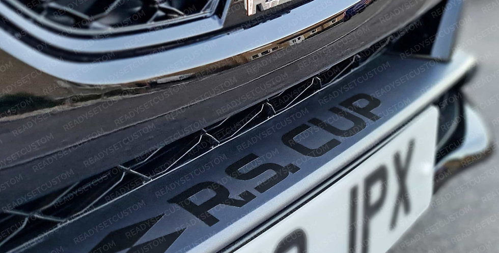 R.S. CUP Front Bumper Decal for Renault Megane Mk4