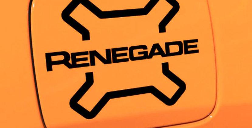 Jeep Renegade Fuel Cap Decal