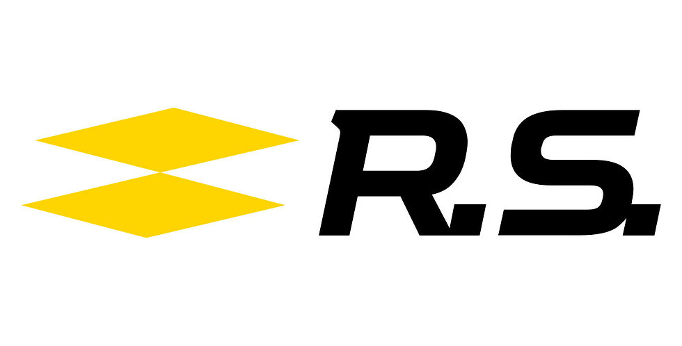 Pair of Renault Sport RS Decals for Megane / Clio