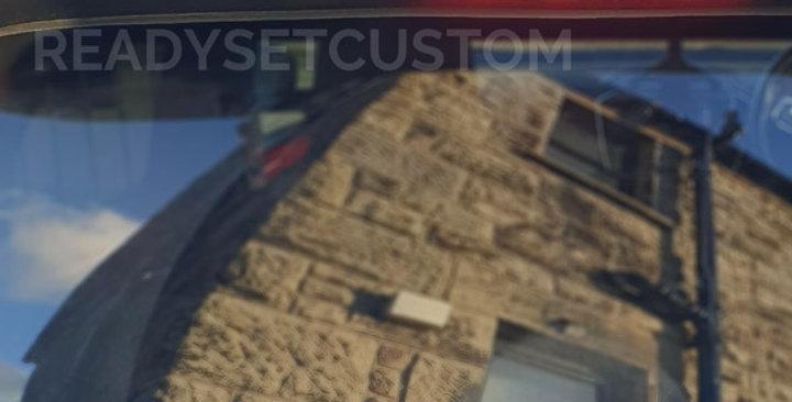 Brake Light Overlay Decal for VW UP GTI