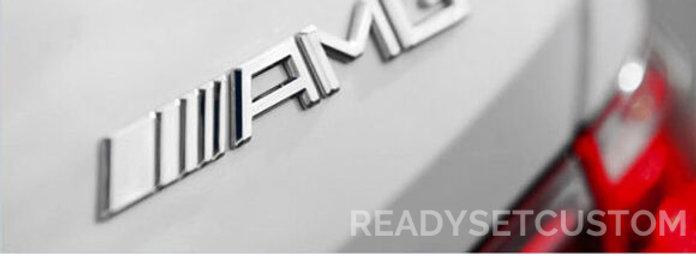 Mercedes AMG Emblem 3D Aluminium Sticker
