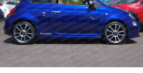 Pair of Turismo Side Skirt Decals for Abarth
