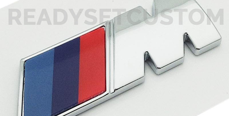 Pair of M Sport Side Panel Badges for BMW