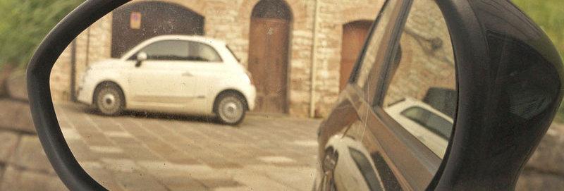 3x Fiat 500 Wing Mirror Decals