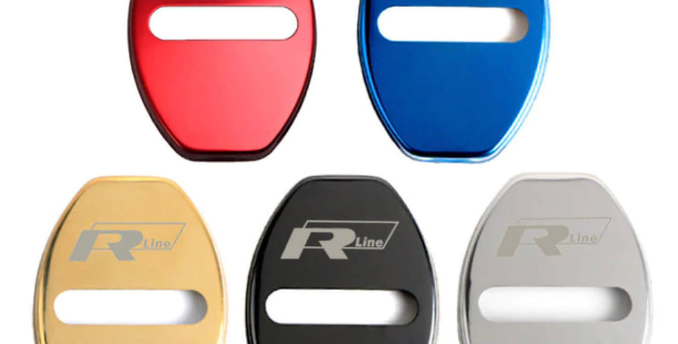 Door Lock Covers for VW R-Line - Golf, Tiguan, Polo