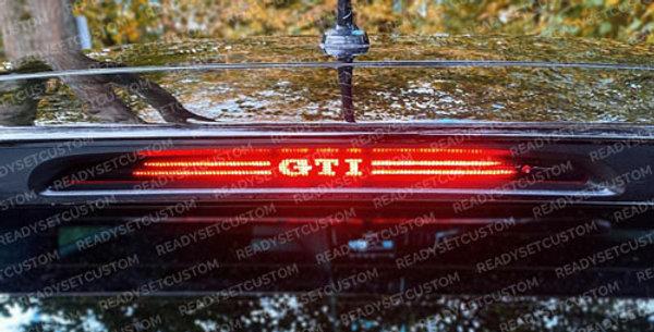 VW Polo MK5 6C Facelift Brake Light Overlay Decal - GTI / Polo / Custom