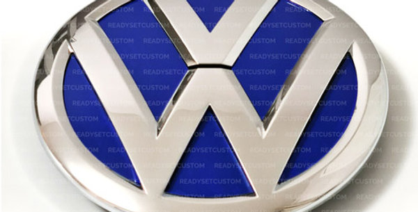 Front Emblem Badge Inserts for VW Touareg 2015 - 2018