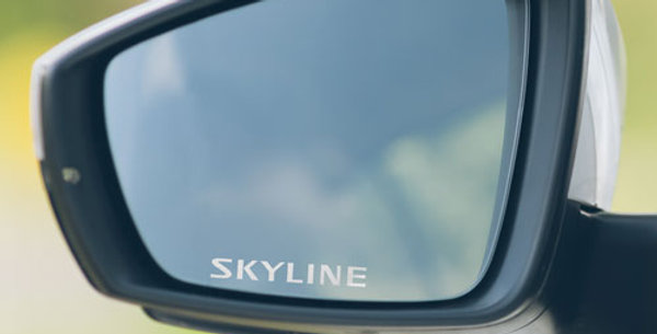 3x Nissan Skyline Wing Mirror Decals