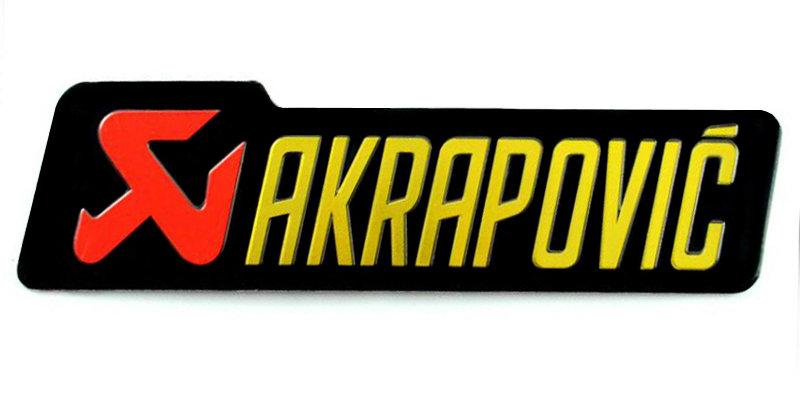 Akrapovic 3D Sticker