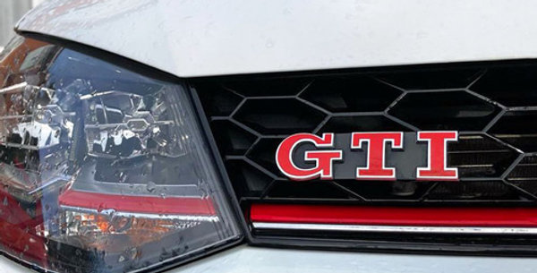 GTI Badge Overlay Decals for VW Polo MK5 6R /6C
