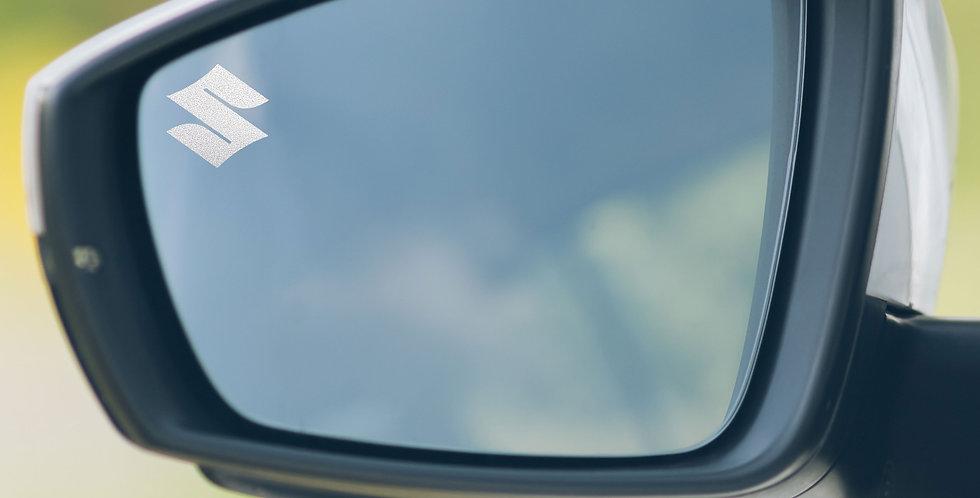 3x Suzuki Wing Mirror Decals