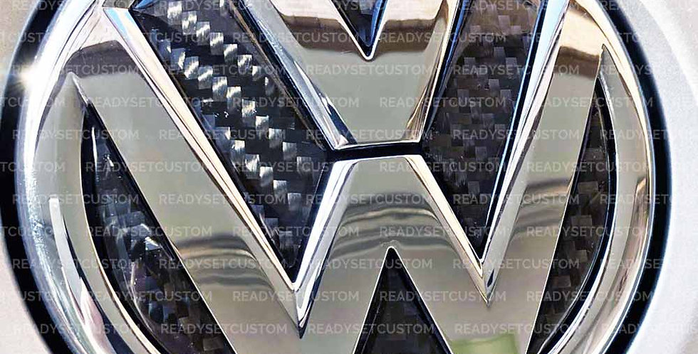 Tailgate Gel VW Badge Inlay for Golf Mk 5, 6 & 7