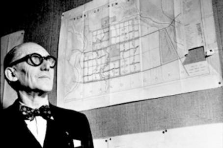 Le corbusier, architect and visionary man
